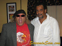 Screamin' Sam and Comedian James Vernon