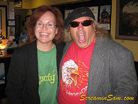 Comedian RN Maureen Sullivan and Screamin' Sam