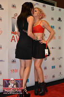 Aiden Ashley and Lexi Belle