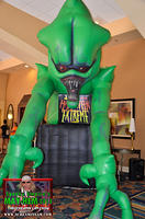 Halloween Extreme display at Spooky Empire's MAY-HEM