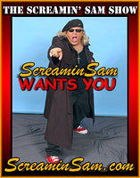 Promo Posters for The Screamin' Sam Show