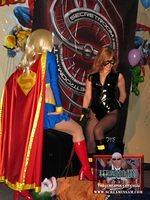 Sexy Superhero show- Supergirl and her hot accomplice overpower JSin, the Joker