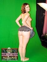 Greenscreen photo shoot in eXXXotica expo