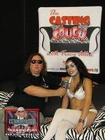 Wildman Vince interviews the Sex Goddess on The Casting Couch