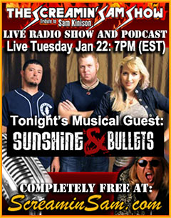 Musical Guest: Sunshine and Bullets - More Info