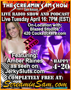 Blazed Studios and Amber Raines 420 Show