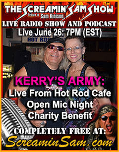 Kerry's Arm Open Mic Night Live From Hot Rod Cafe Pittsburgh PA